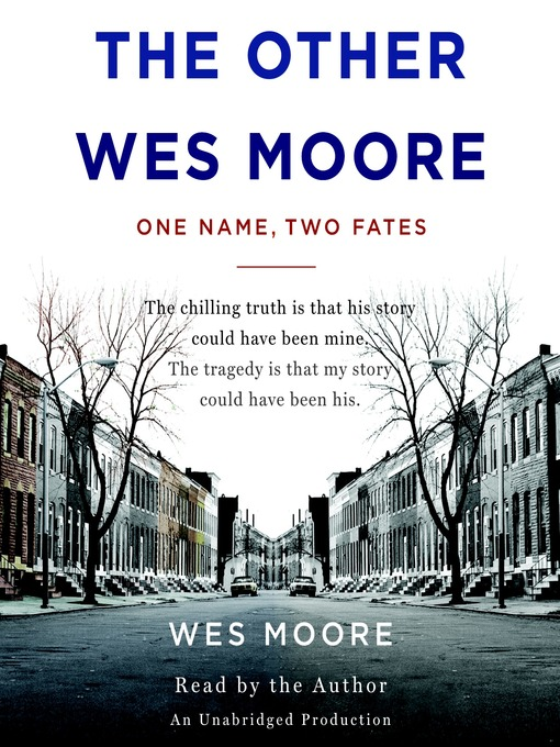 the other wes moore book analysis