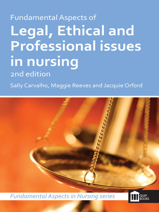 nursing ethical and legal issues