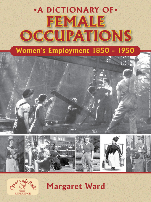 A Dictionary of Female Occupations
