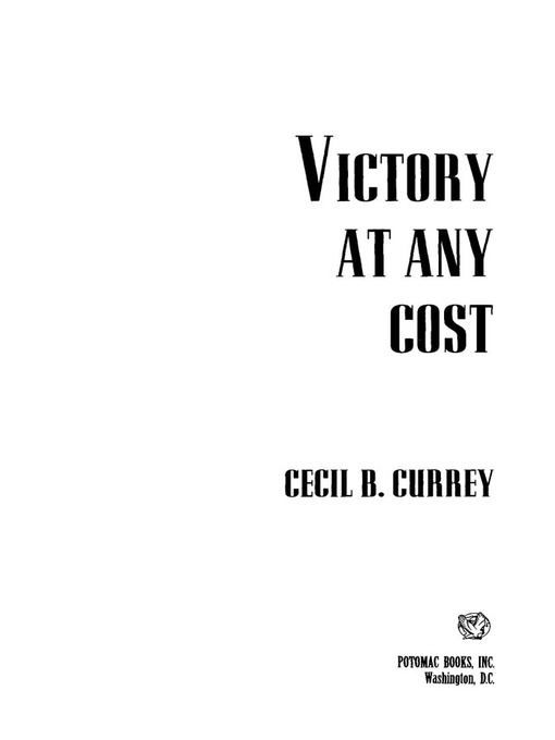 Victory at Any Cost