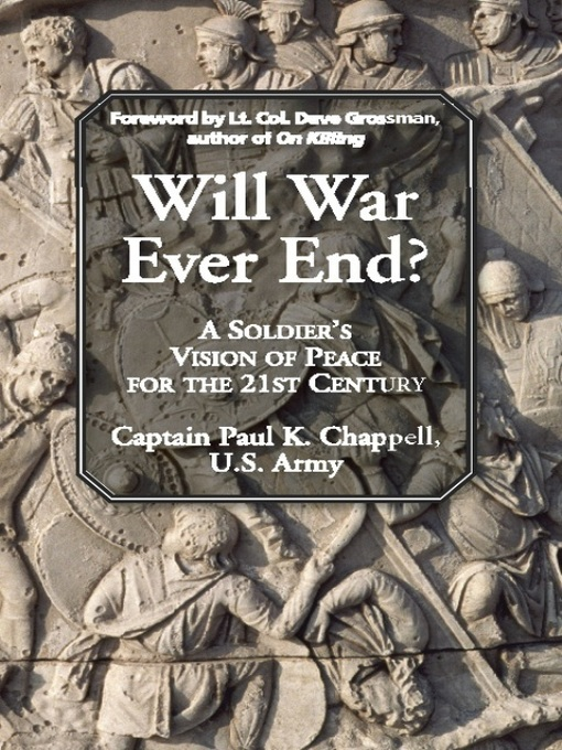 Will War Ever End?